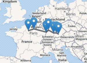 Bus route 91 Paris - Munchen: ticket prices, timetable, coach ... on paris train station map, paris l open tour bus, caen normandy france map, paris attractions map.pdf, paris transportation map, paris bike path map, paris highway map, paris rer zones map, paris map for tourists printable, paris city map, paris bus lines, paris transit map, paris bus hop on map, paris travel map, paris map map, paris tourist bus routes, paris bus map with streets, paris airport map, paris bus map pdf, paris bus map printable,