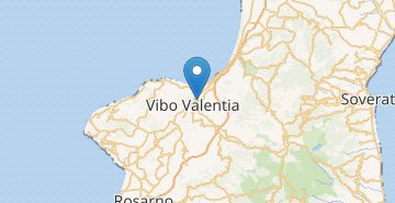 Map Vibo Valentia