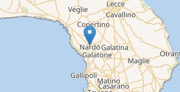 Map Nardò