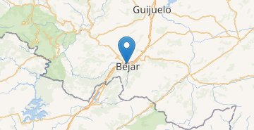 Map Bejar