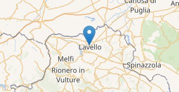 Map Lavello