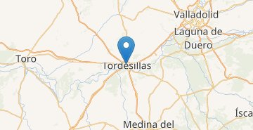 Map Tordesillas