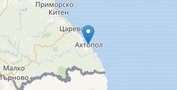 Map Ahtopol