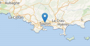Map Toulon