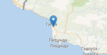 Map Gagra