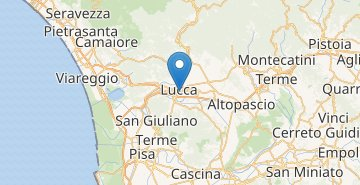 Map Lucca