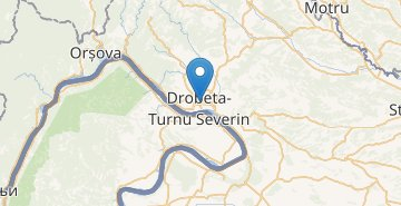 Map Drobeta Turnu-Severin