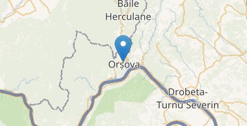 Map Orsova