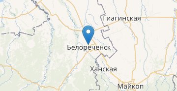 Map Belorechensk