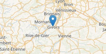 Map Givors