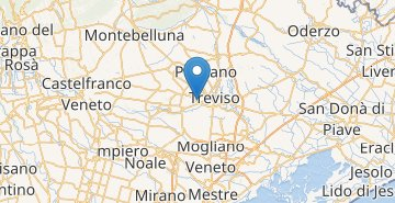 Map Treviso Airport