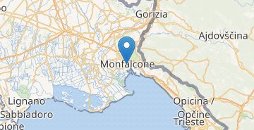 Map Monfalcone