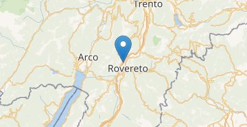 Map Rovereto