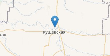 Map Kushchevskaya