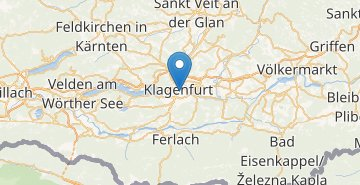 Map Klagenfurt