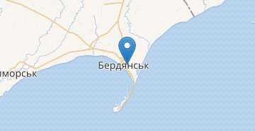 Map Berdyansk