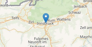 Map Innsbruck