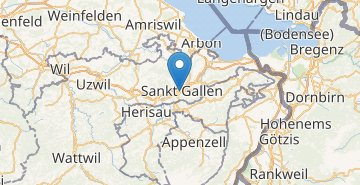 Map Sankt Gallen