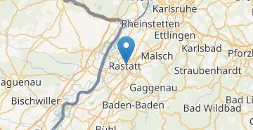 Map Rastatt