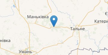 Map Potash (Talnovskiy r-n)