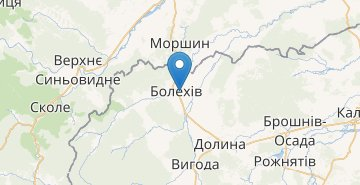 Map Bolechiv