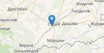 Map Stryi
