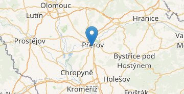 Map Přerov