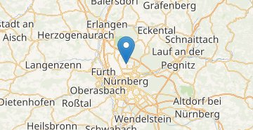 Map Nurnberg airport