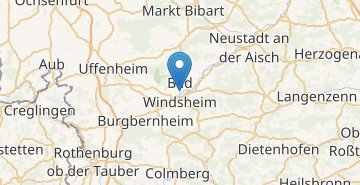 Map Bad Windsheim