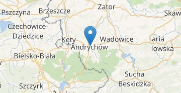 Map Andrychow