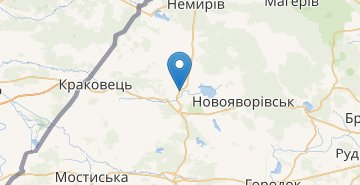 Map Yavoriv