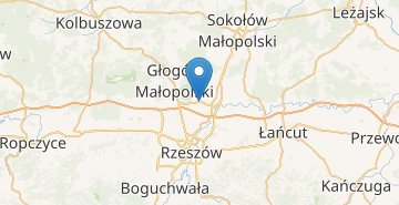 Map Rzeszow airport