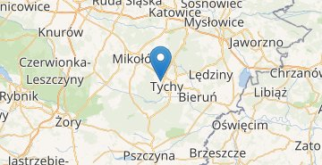 Map Tychy