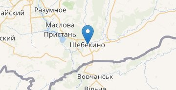 Map Shebekino