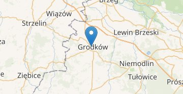 Map Grodkow
