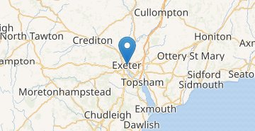 Map Exeter