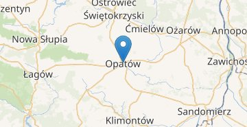 Map Opatow