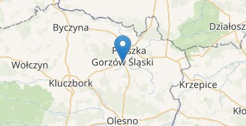 Map Gorzow Slaski