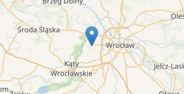 Map Wroclaw Airport
