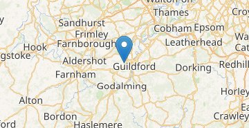 Map Guildford