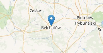Map Belchatow