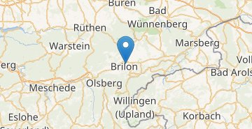 Map Brilon