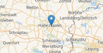 Map Halle