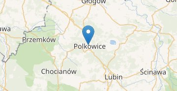 Map Polkowice