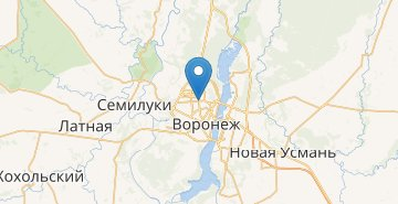 Map Voronezh