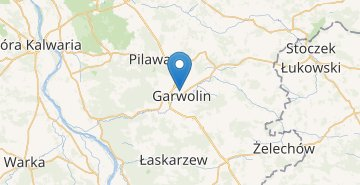 Map Garwolin