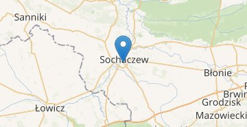 Map Sochaczew