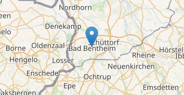 Map Bad Bentheim