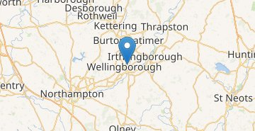 Map Wellingborough