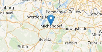 Map Michendorf